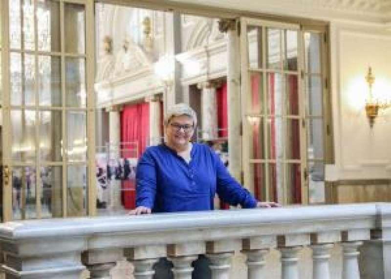 La concejala de Compromís Luisa Notario, durante la entrevista con la Agencia EFE. EFE