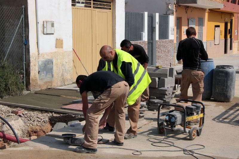 Operars fent treballs al municipi/ Ajuntament de Picassent