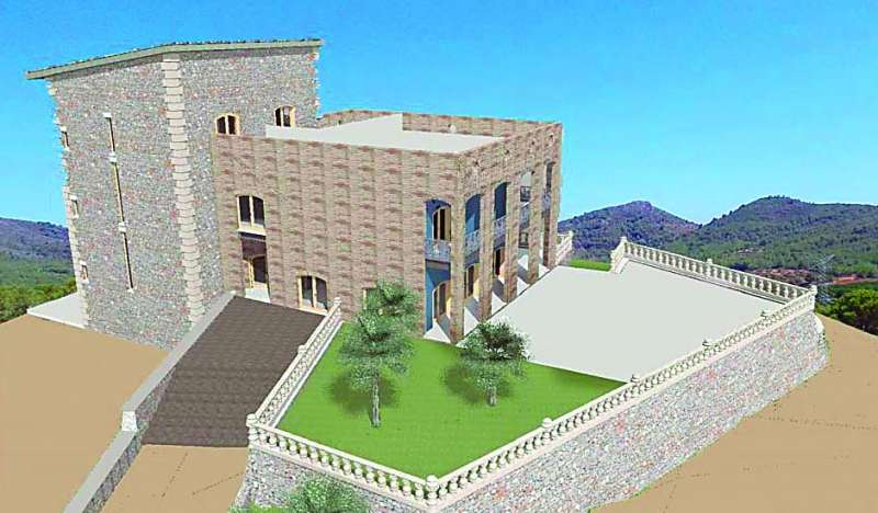 Imatge virtual del projecte. EPDA