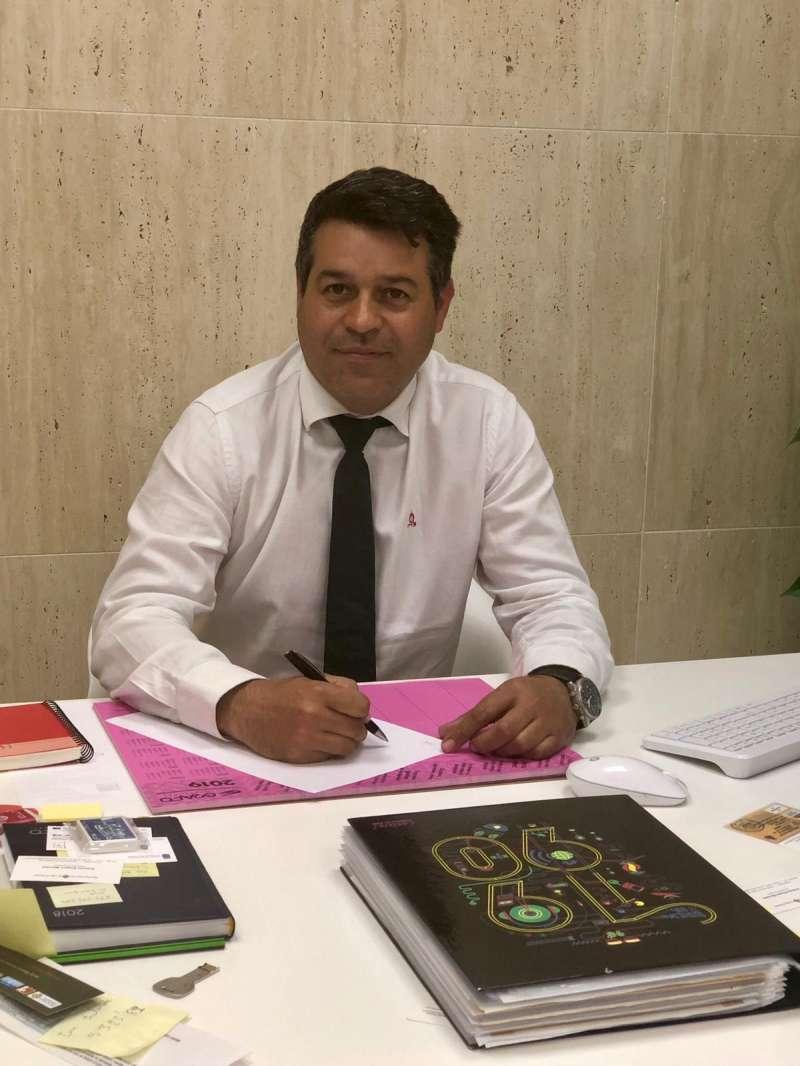 Antonio Ropero, alcalde de Olocau. / epda