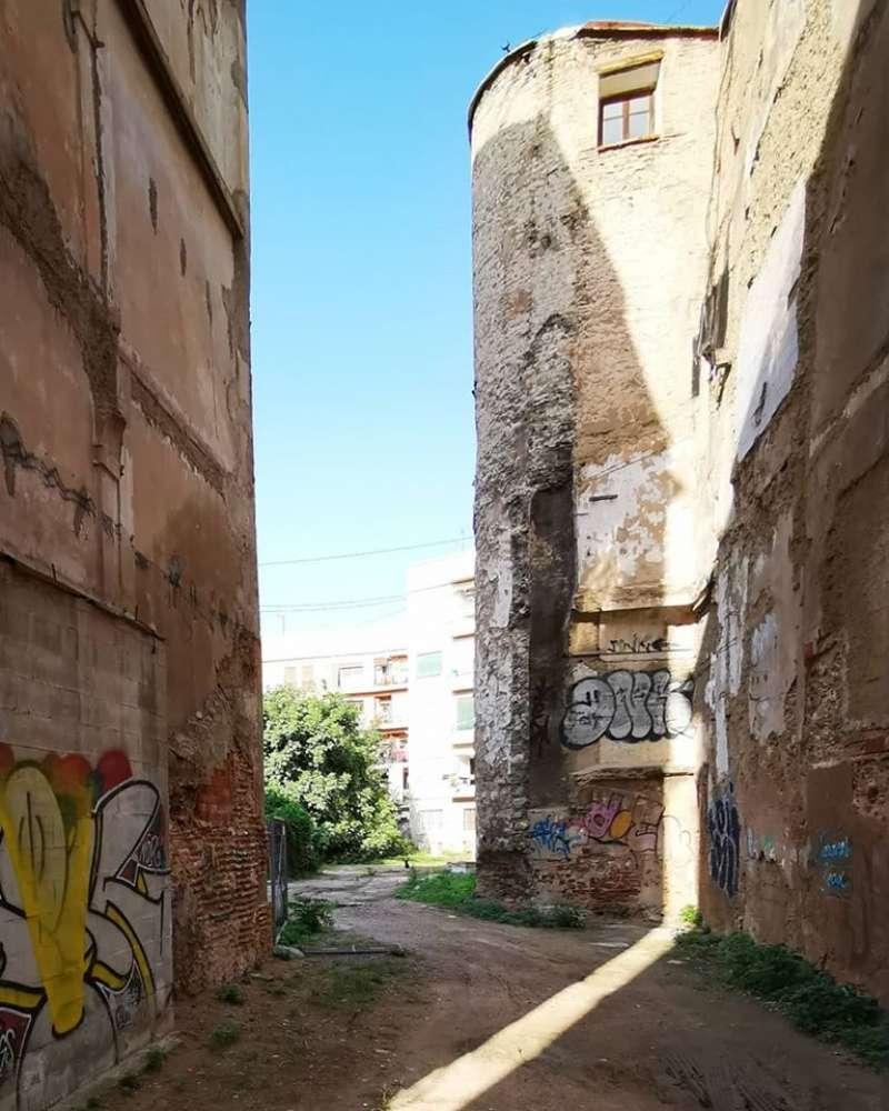 Muralla árable. B. BUENO