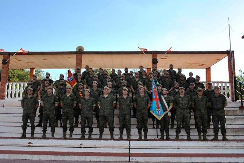 Foto del Grupo de Caballeria Ligero Acorazado(GCLAC) MILAN XVI. Base General Almirante de Marines. //EPDA