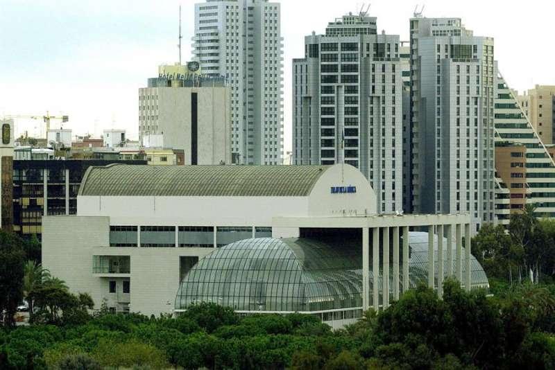 Vista panorámica del Palau de la Música de Valencia. EFE