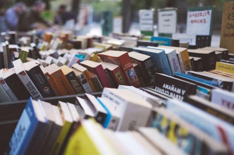 Libros en la Feria de los Libros. EPDA.