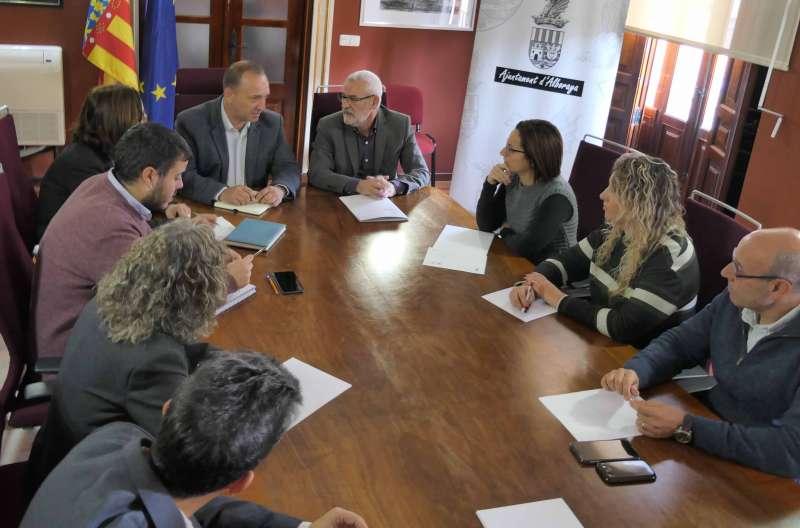 Visita del conseller de Vivienda y Arquitectura Bioclimática, Rubén Martínez. EPDA