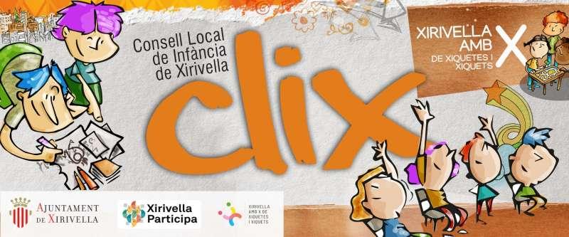 Cartel Clix de Xirivella