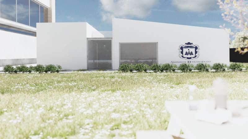 Infografía de la futura Casa de la Juventud. / EPDA