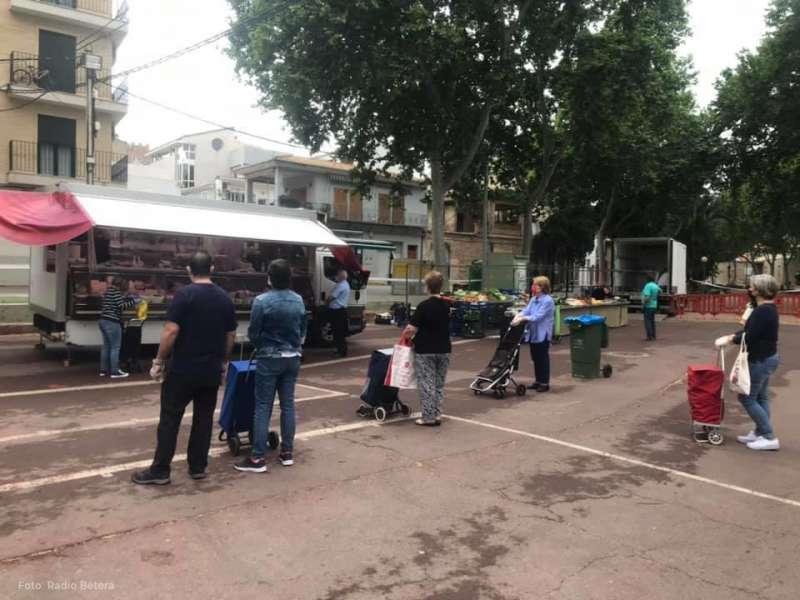 Mercado de la localidad de Bétera. EPDA