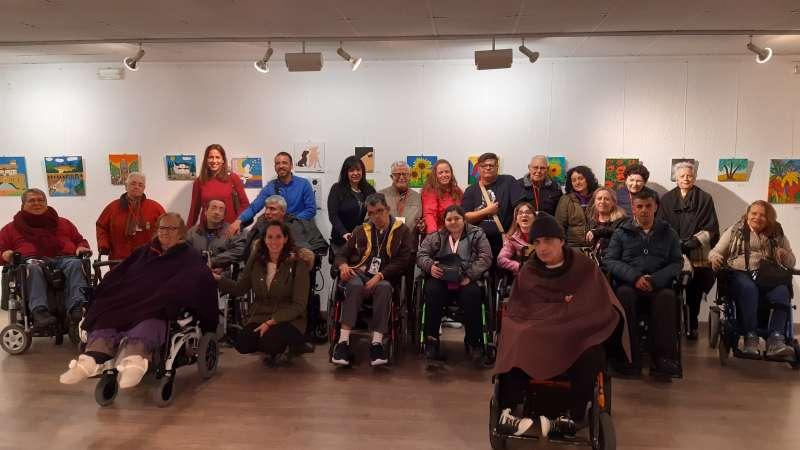 Exposición de Muestra de Arte y Artesanía en Quart de Poblet.