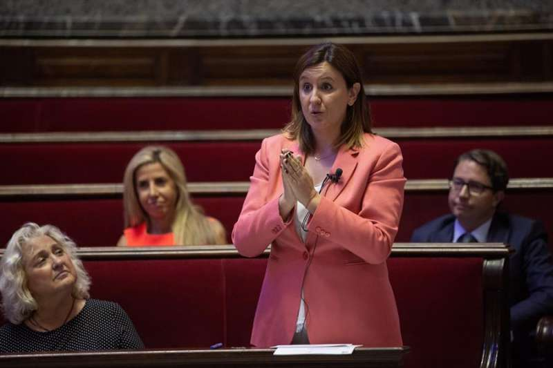 La portavoz de PP en el ayuntamiento de València, María José Catalá. EFE