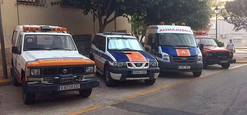 Los voluntarios han de estar preparados para actuar en situaciones de emergencia. EPDA.