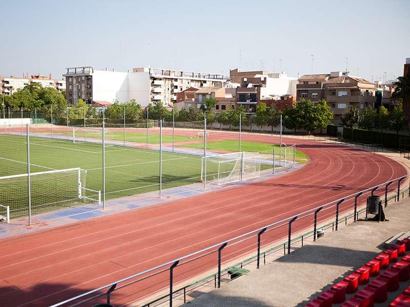 Polideportivo de la localidad de Burjassot. EPDA