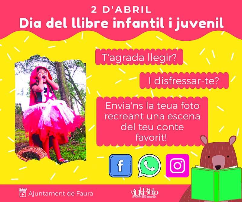 Cartell del Dia del Llibre Infantil i Juvenil.