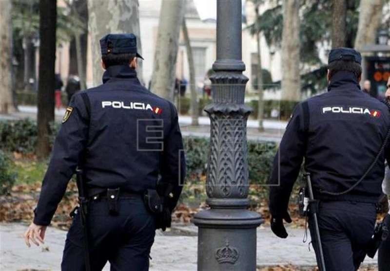 Dos agentes de la Policía Nacional. EFE/Archivo