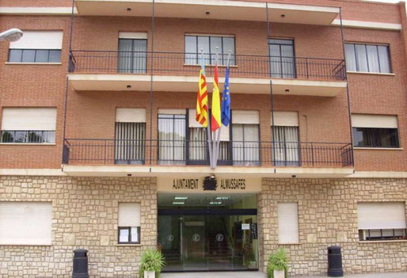 Ayuntamiento Almussafes./EPDA