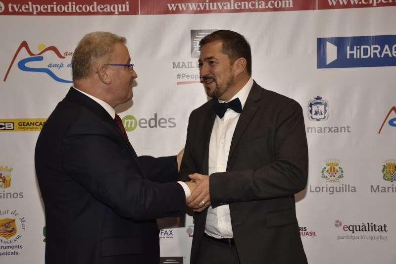 José Salvador Murgui con Pere Valenciano. / EPDA
