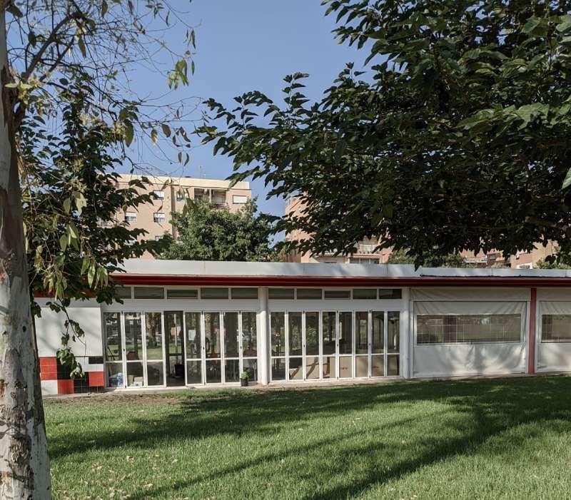 Edificio de la Pérgola en el Triángulo Umbral.