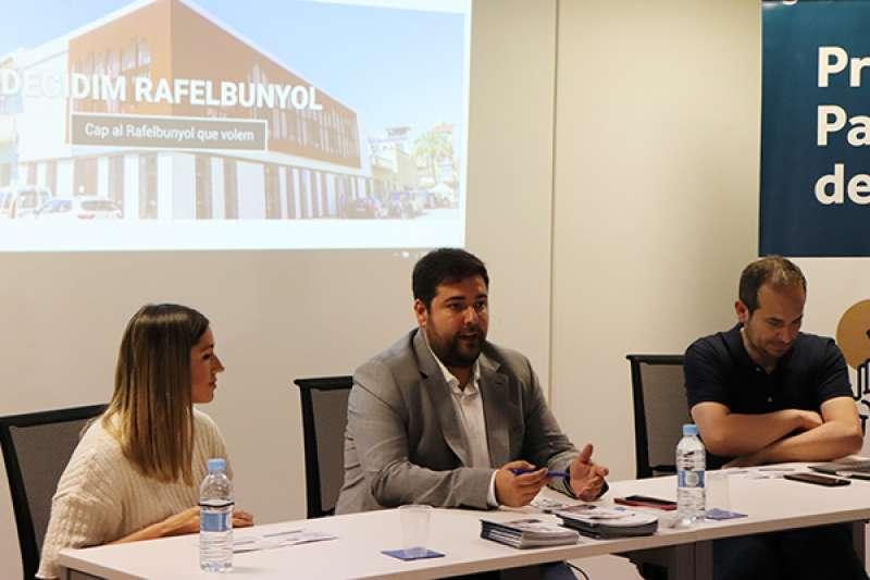 López en la presentació de la nova fase del procés. EPDA