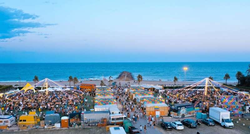 Festival Solmarket en la playa de El Puig. EPDA