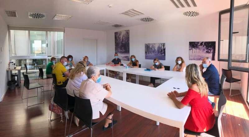 Reunión escuelas Quart./ EPDA