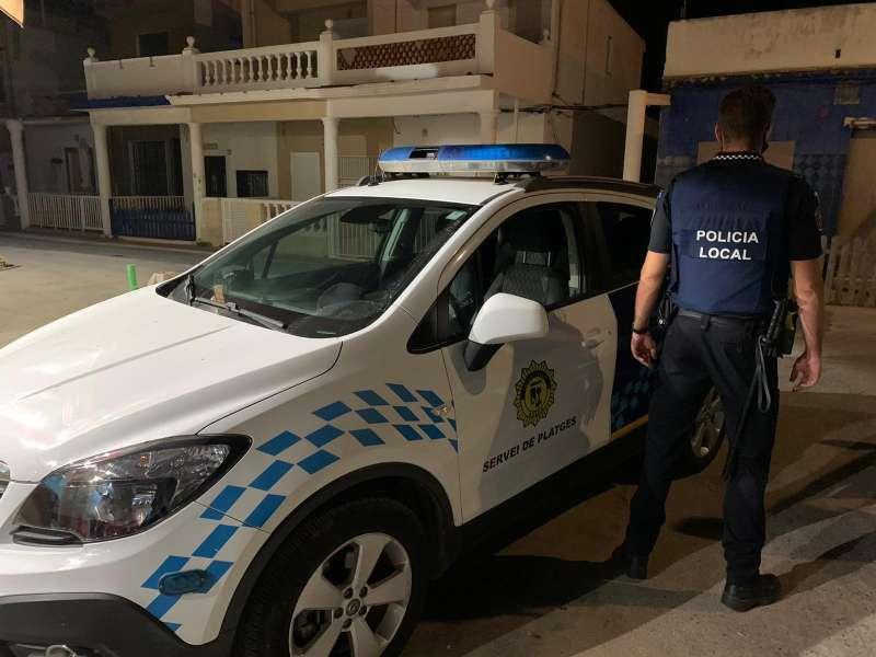 Mas control policial