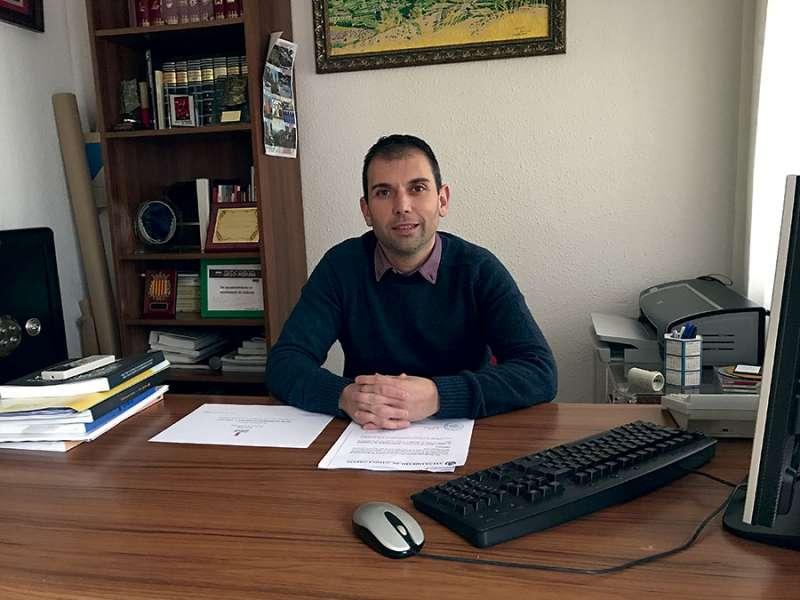 Manolo Martínez, único alcalde de Ciudadanos en Camp de Túria. FOTO EPDA