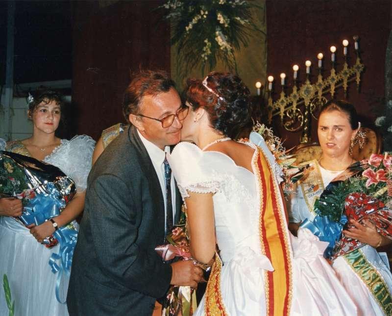 Pepe Ferrer, en una presentación de las Reinas Musicales.