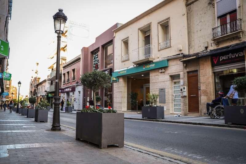 Calle Mayor de Paterna. EPDA
