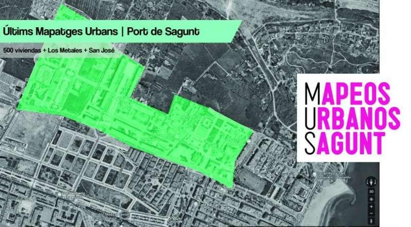 Mapeo urbano en Port de Sagunt. EPDA