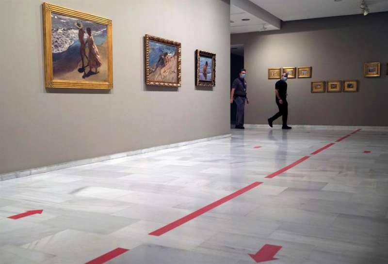 Imagen de archivo de la exposición Sorolla. Cazando impresiones, de la Fundación Bancaja. EFE/ Juan Carlos Cardenas/Archivo