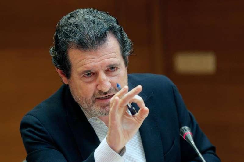 El portavoz de Justicia del PP en Les Corts, José Císcar, en una imagen de archivo. EFE/ Kai Försterling