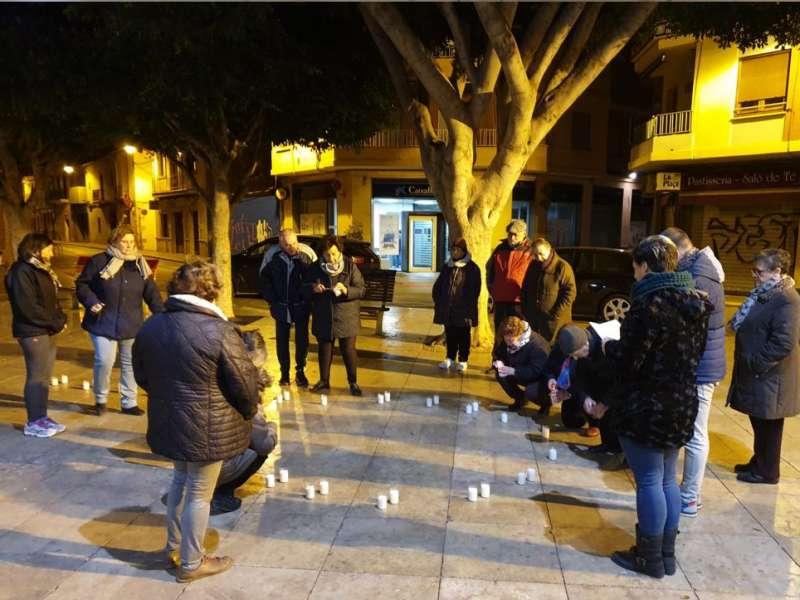 Acto realizado en Foios el pasado 25 de noviembre.- EPDA