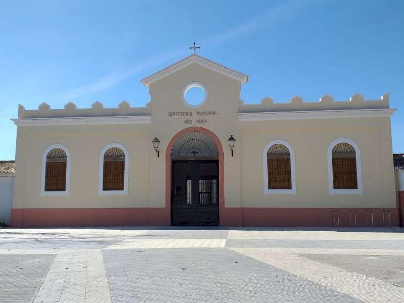 El cementerio de Catarroja. EPDA