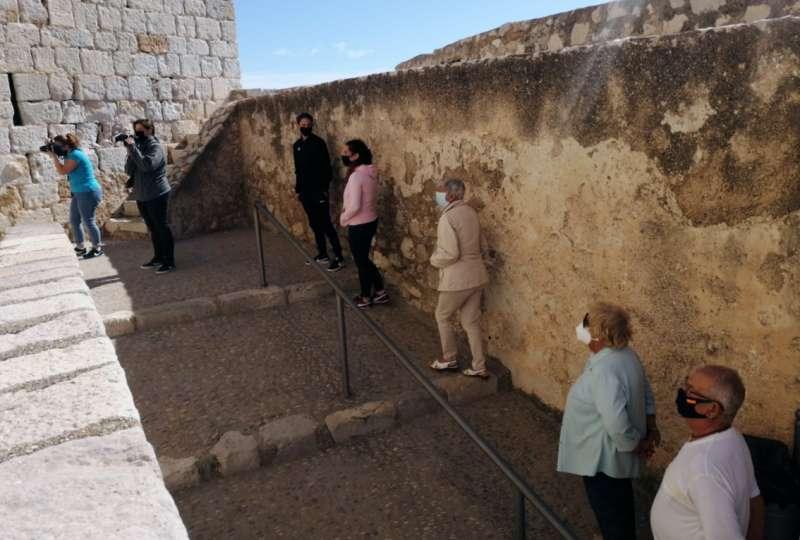 Más de 1.000 visitantes han visitado la fortaleza