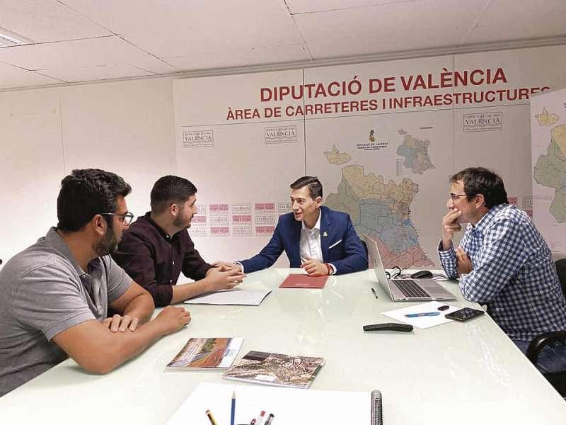 Reunión con Diputación