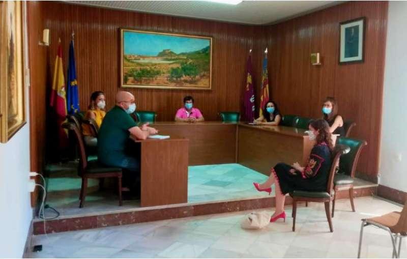 Reunión en el ayuntamiento