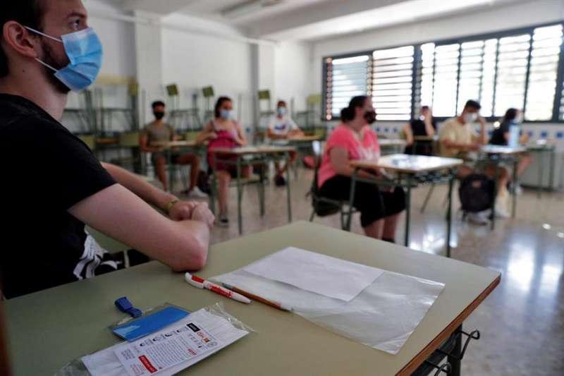 Estudiantes en una imagen de archivo. EPDA