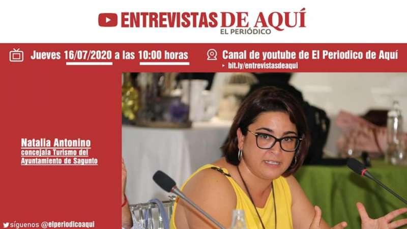 La Entrevista de Aquí: Natalia Antonino.
