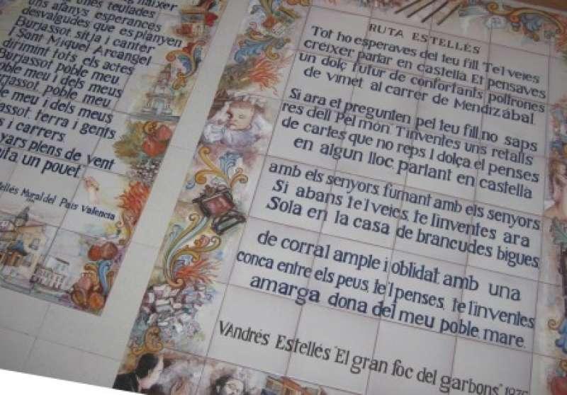 Poemas de Estellés. EPDA.