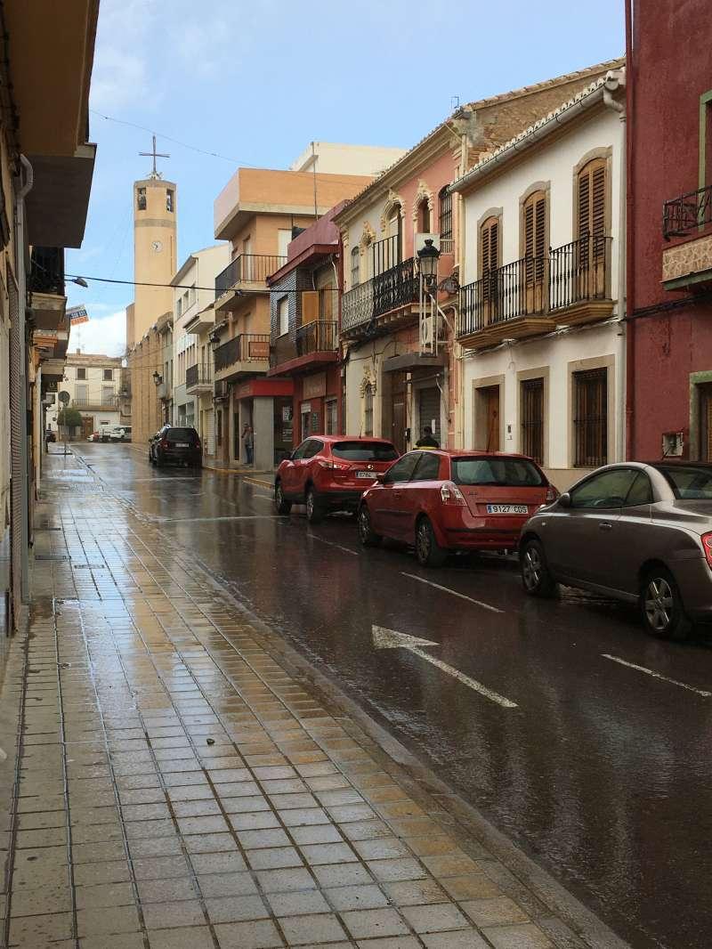 Calle prinicipal del municipio