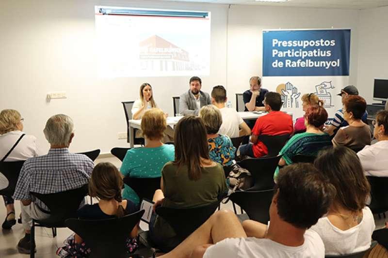 Presentació dels pressupostos participatius. EPDA