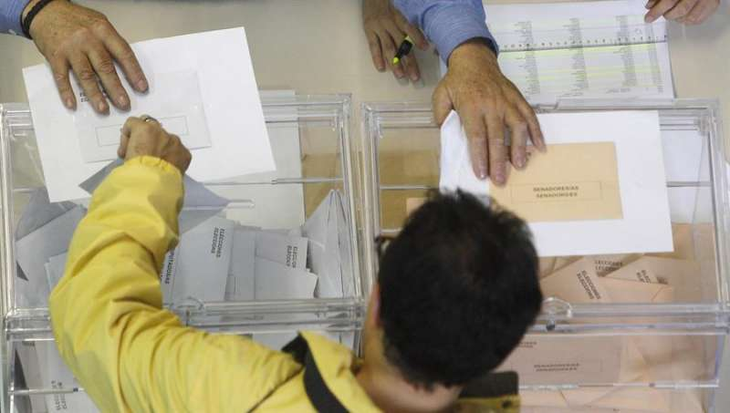 Votación. EFE