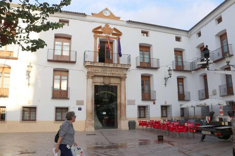 Ayuntamiento de Utiel. Foto: AG (EPDA)