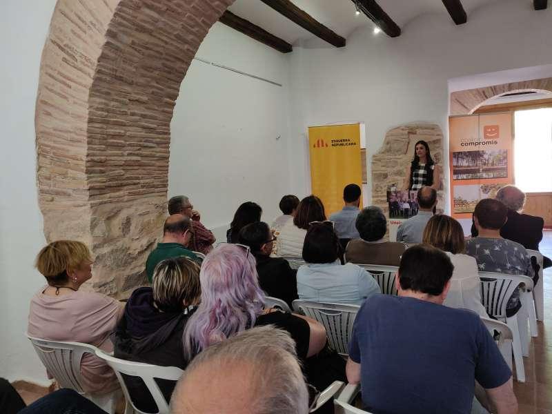 Presentació de Junts per Benifairó