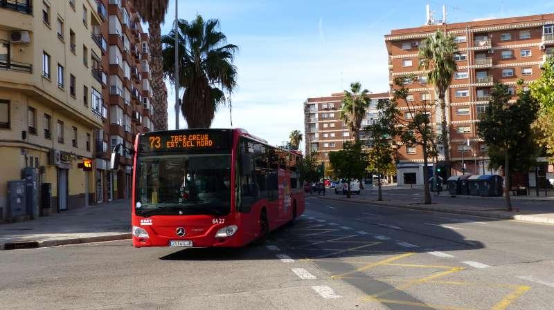 Autobús de la EMT de València. EPDA