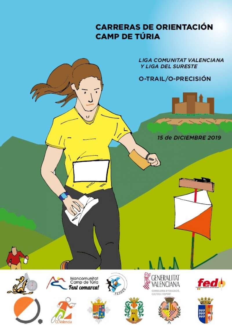 Cartel anunciador de la carrera. / EPDA
