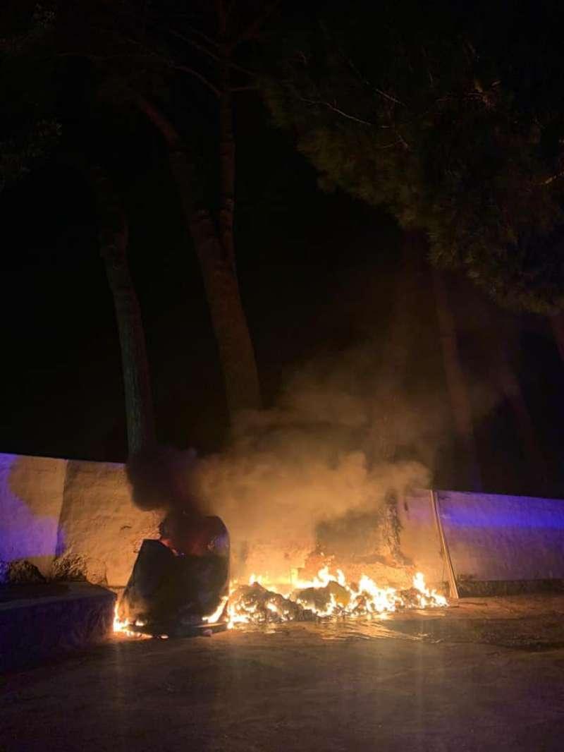Incendi anit a la Font de Quart. EPDA