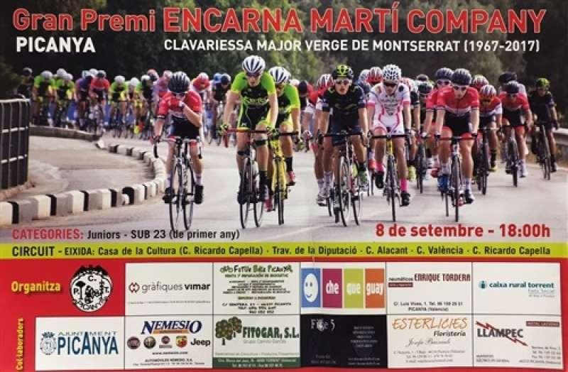 Cartell de la cursa de Picanya. EPDA