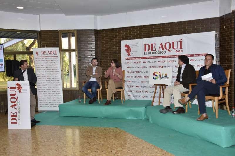 Intervenció del Director del Periódico de Aquí, Pere Valenciano
