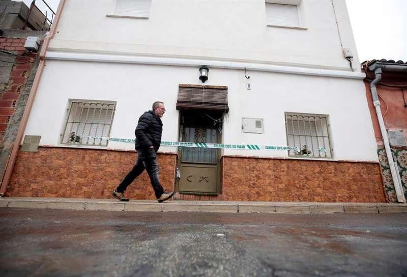 Casa del autor confeso del crimen de Marta Calvo, en la localidad de Manuel (Valencia). EFE/Manuel Bruque/Archivo